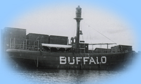 Light ship vessel number 98 stationed at Buffalo